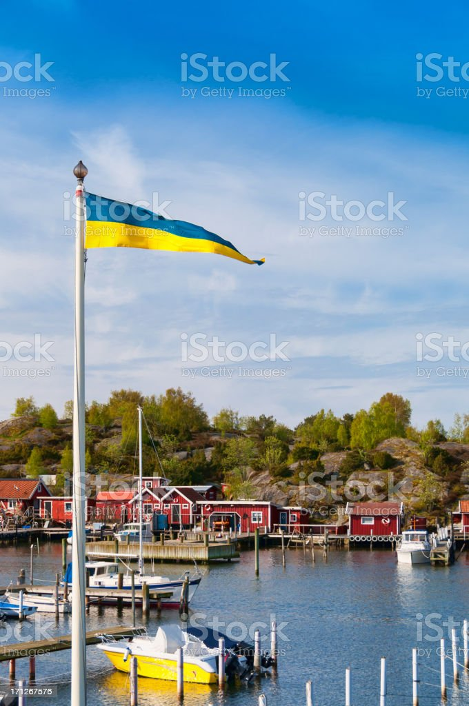 Summer vacation in Sweden royalty-free stock photo