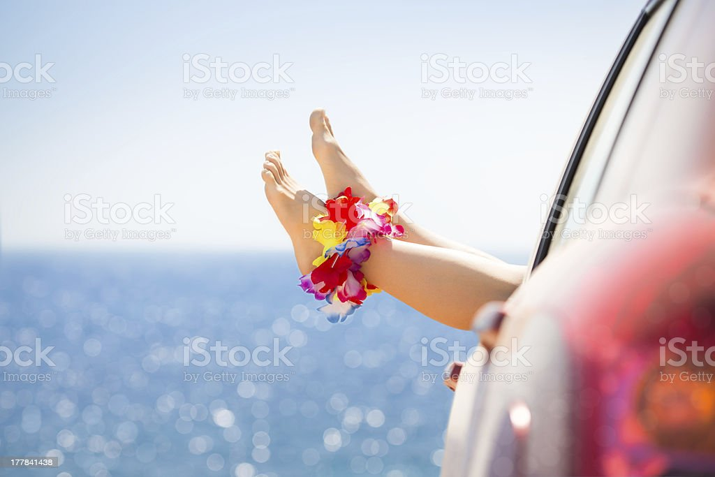 Summer vacations concept stock photo