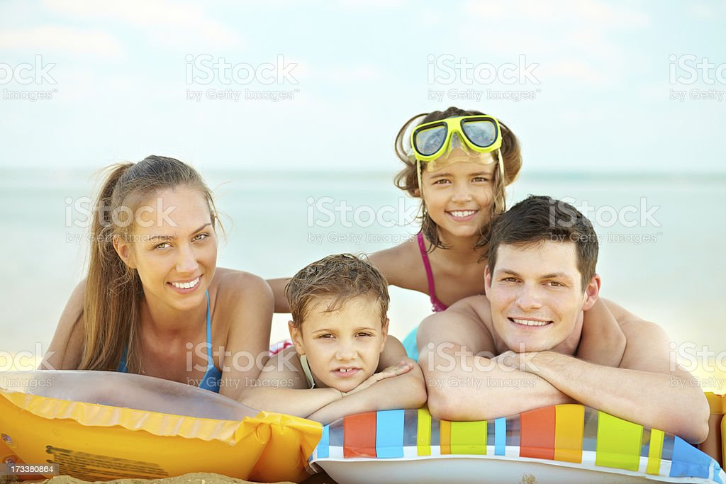 Summer vacations royalty-free stock photo
