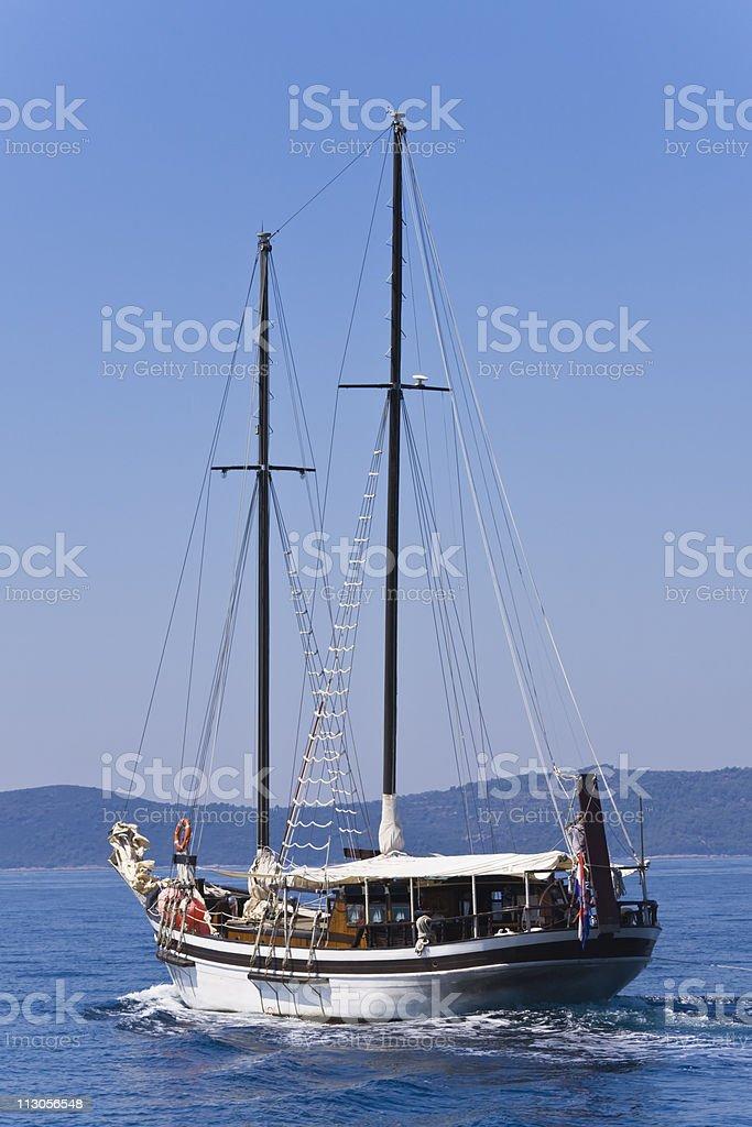 summer voyage royalty-free stock photo