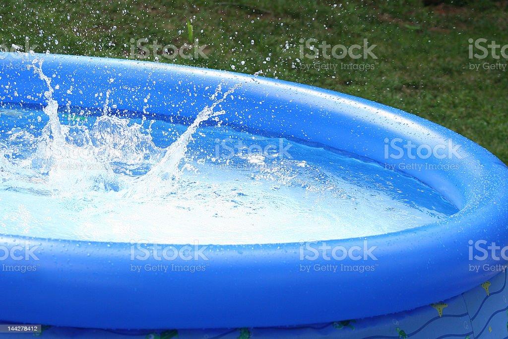 summer water splash royalty-free stock photo