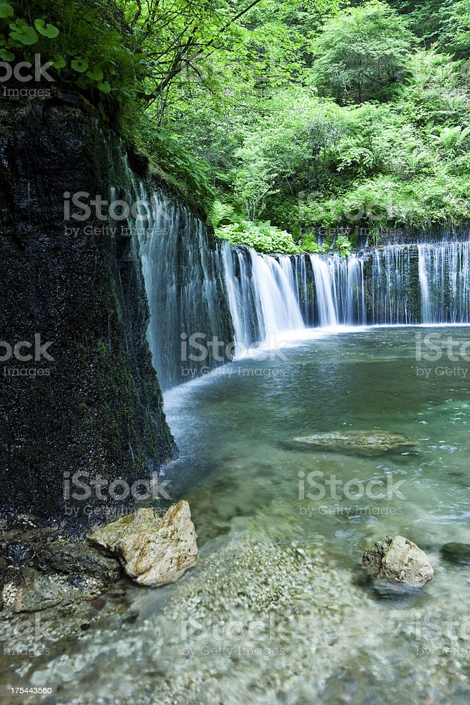 Summer Waterfalls royalty-free stock photo