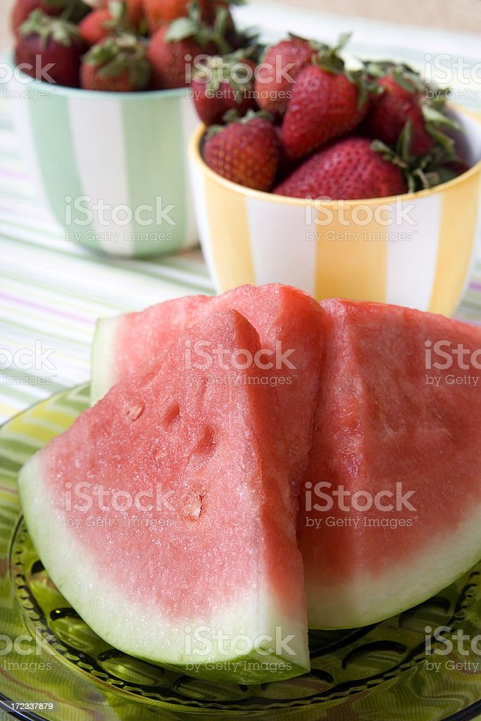 Summer Watermelon royalty-free stock photo