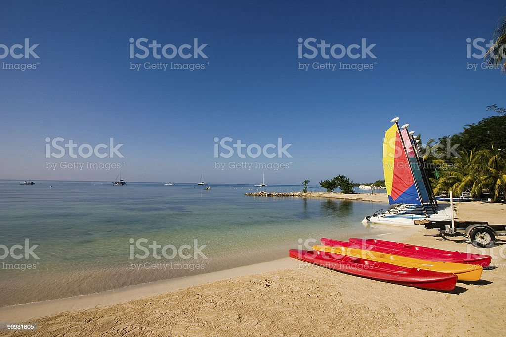 Summer watersports royalty-free stock photo