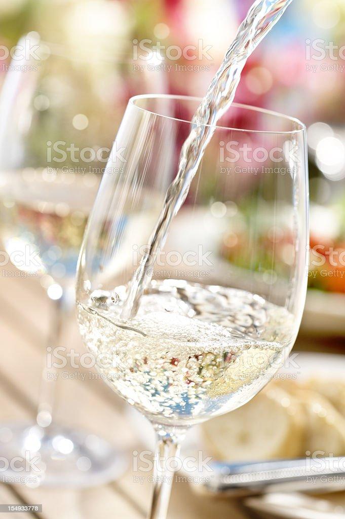 Summer Wine stock photo