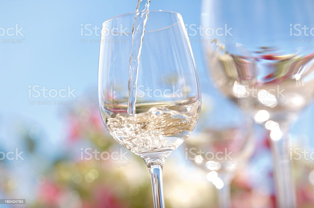 Summer Wine royalty-free stock photo