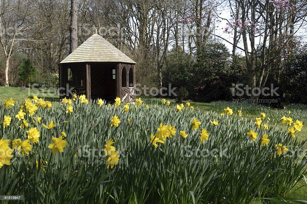 Summerhouse royalty-free stock photo