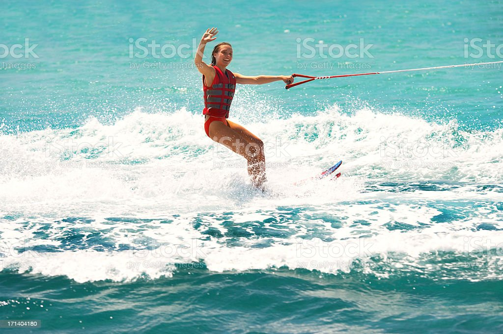 Summer's the time to get active royalty-free stock photo