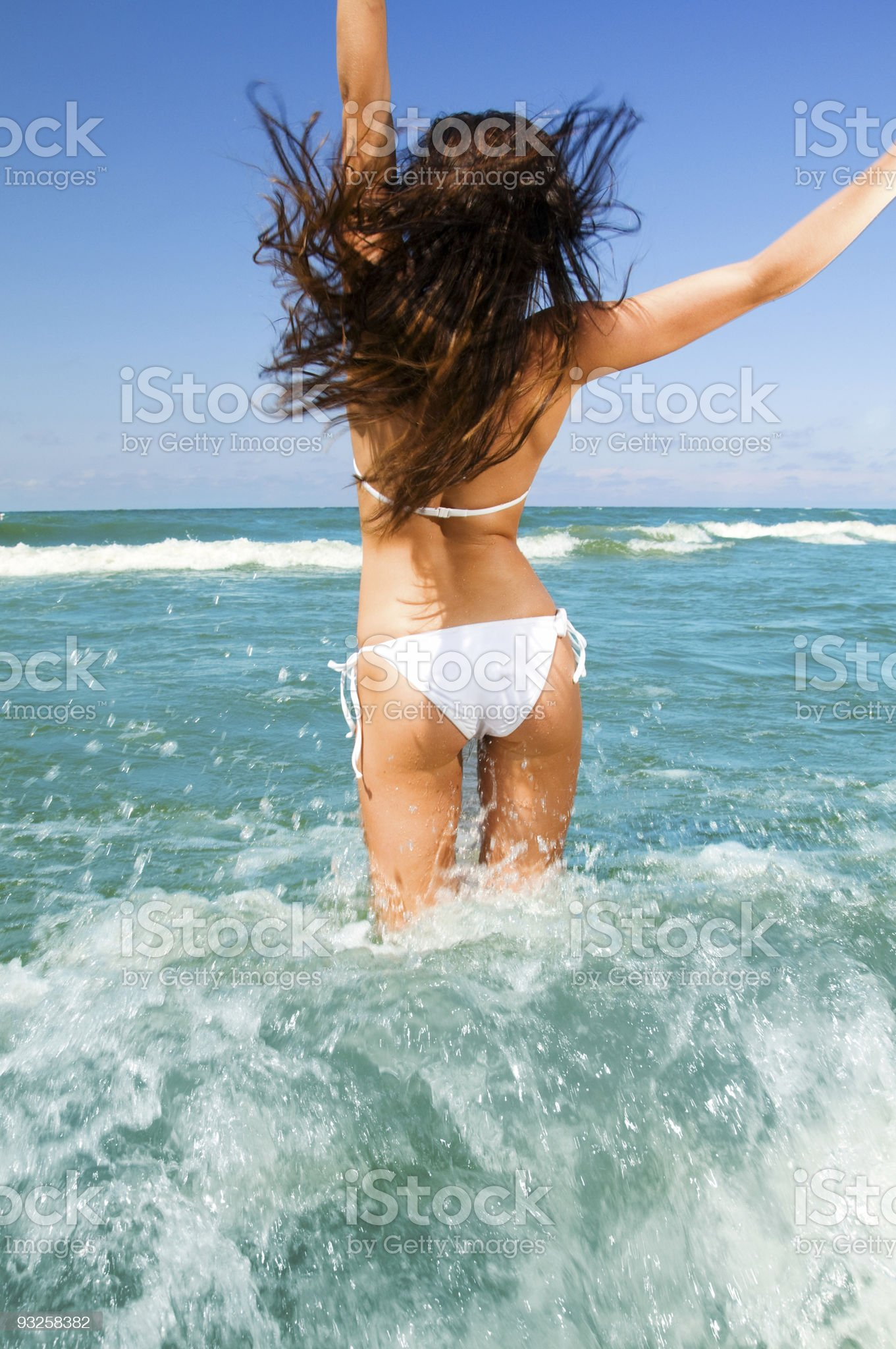 Summertime Beach Fun royalty-free stock photo
