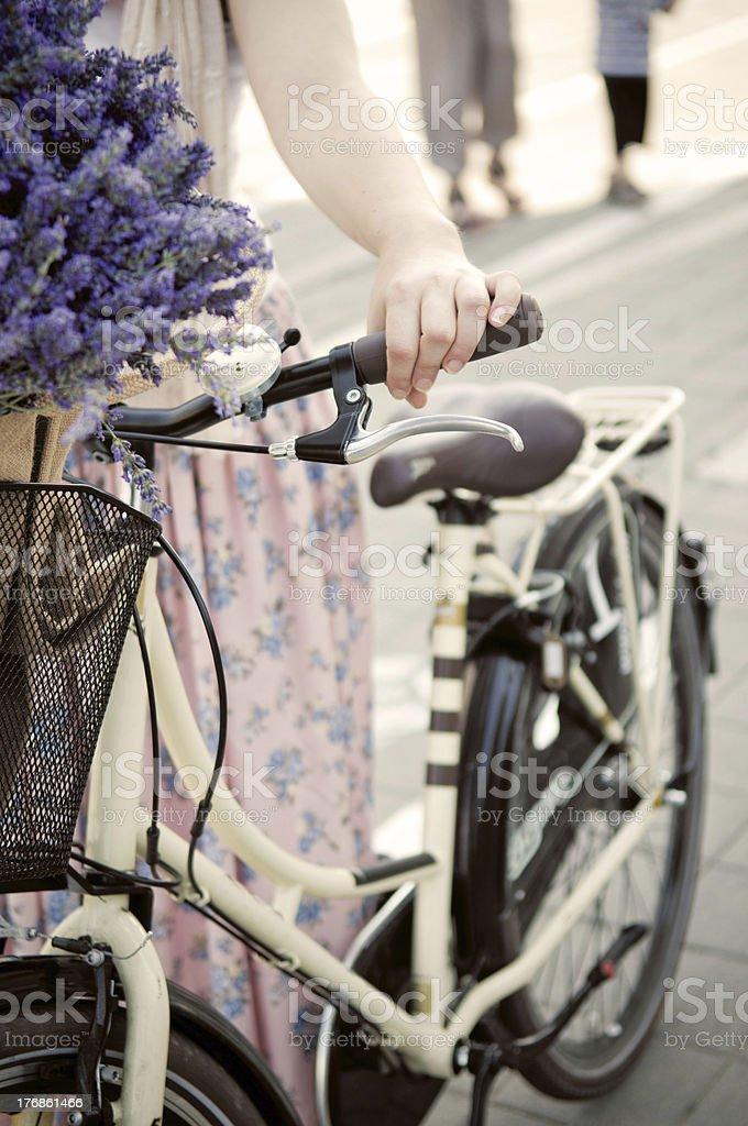 Summertime biking royalty-free stock photo