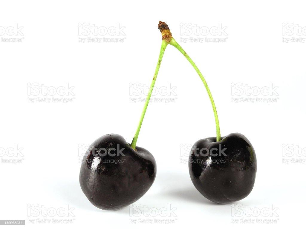 summertime:  black cherry stock photo