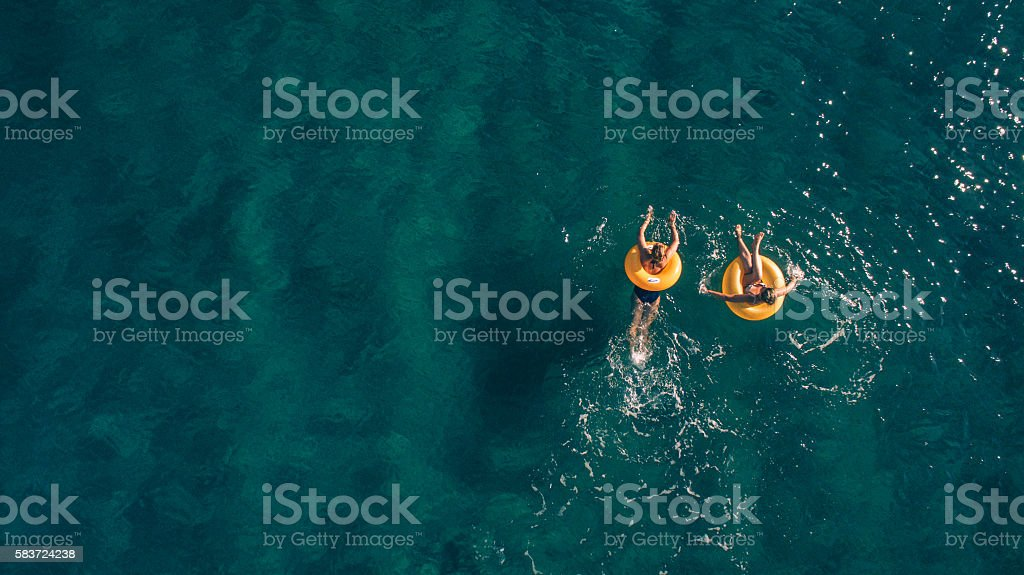 Summertime fun! stock photo