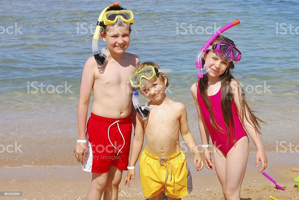 Summertime fun royalty-free stock photo