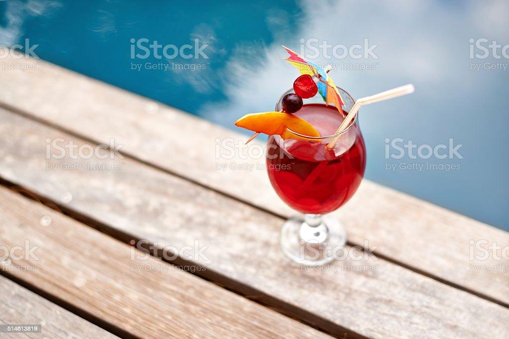 Summertime refreshment stock photo