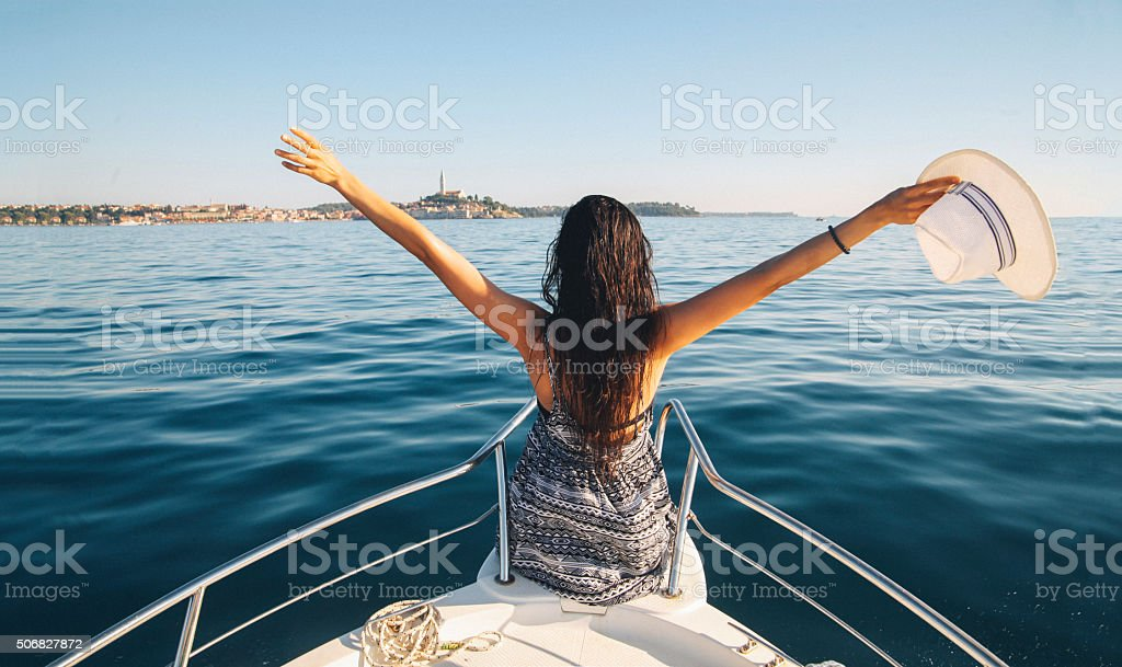Summertime vacation stock photo