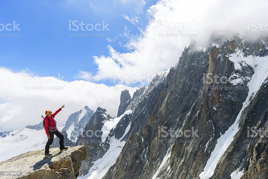 Summit In Sight royalty-free stock photo