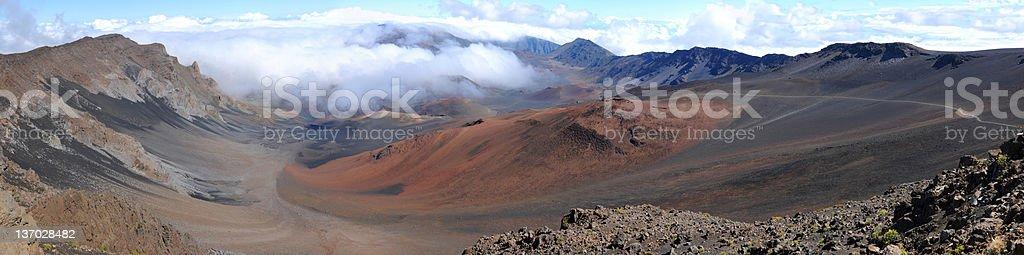 Summit of Haleakal? royalty-free stock photo