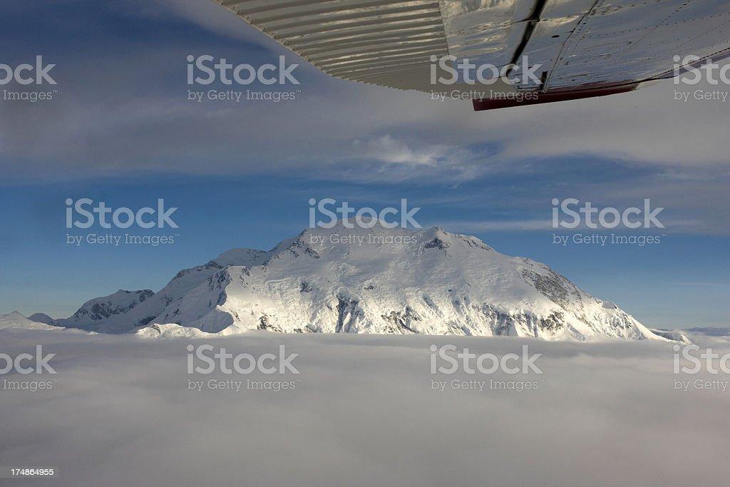 Summit of Mount Denali ( McKinley) royalty-free stock photo