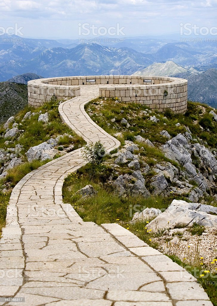 Summit of the Kings royalty-free stock photo