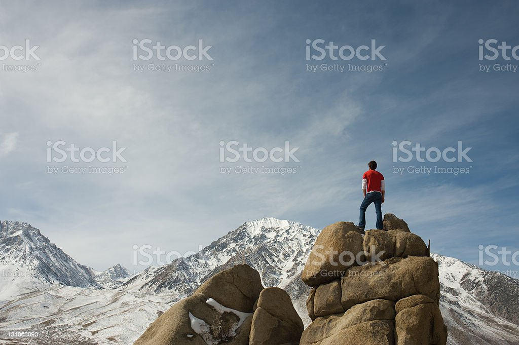 summit royalty-free stock photo