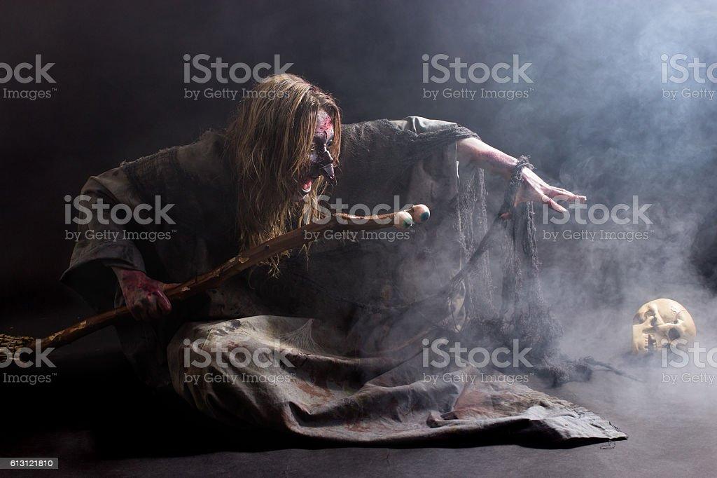 Summoning stock photo