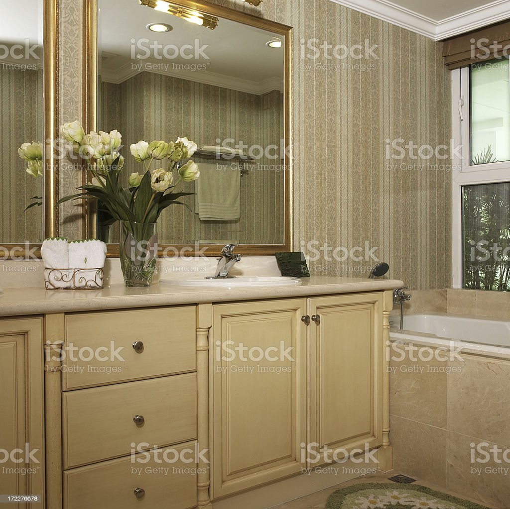 Sumptuous Bathroom royalty-free stock photo