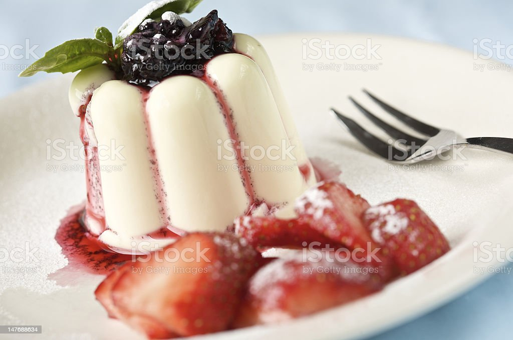 Sumptuous dessert royalty-free stock photo
