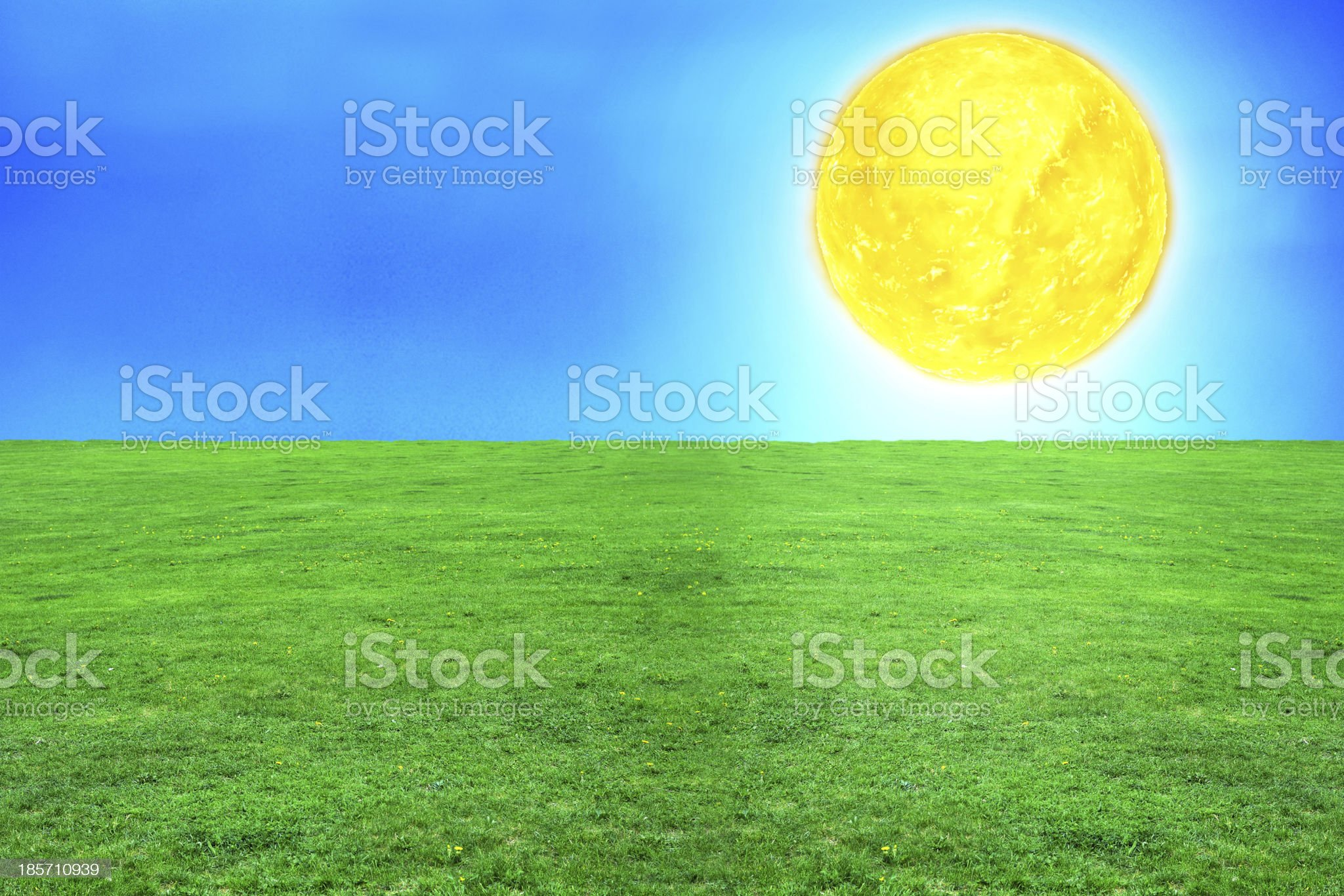 Sun - 3d rendered illustration royalty-free stock photo