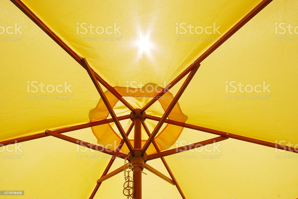 Sun and Canopy royalty-free stock photo