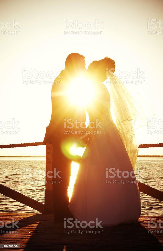Sun and Love stock photo