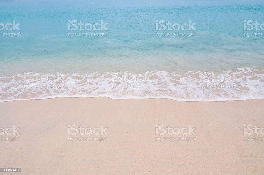 Sun and sea stock photo