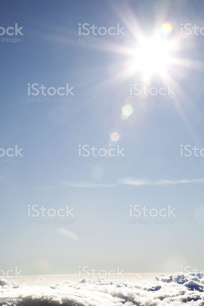 Sun Beams royalty-free stock photo