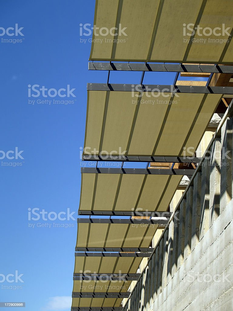 Sun canopy royalty-free stock photo
