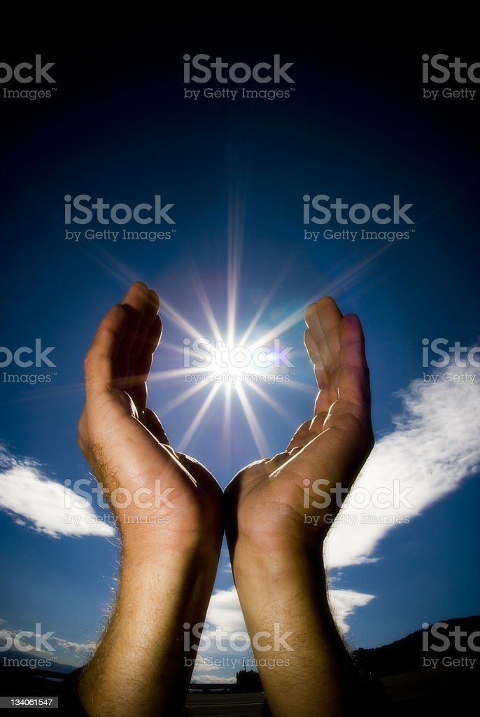 sun cup royalty-free stock photo