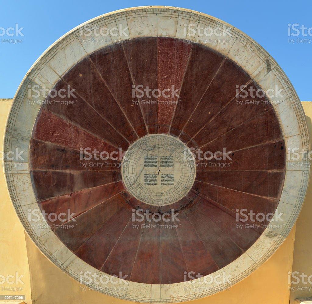 Sun dial stock photo