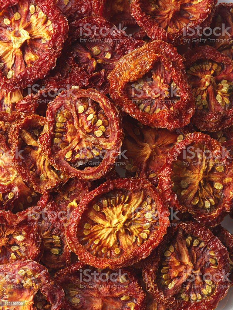 Sun Driwd Tomatoes royalty-free stock photo