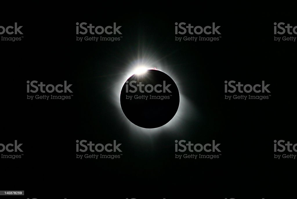 Sun Eclips 2006 stock photo