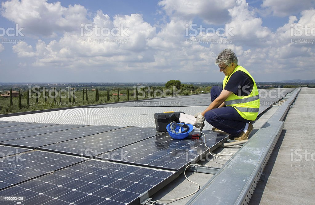 sun energy royalty-free stock photo
