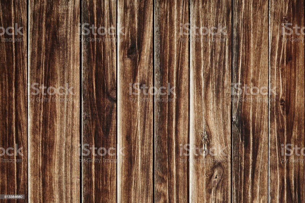 Sun faded brown wooden texture stock photo