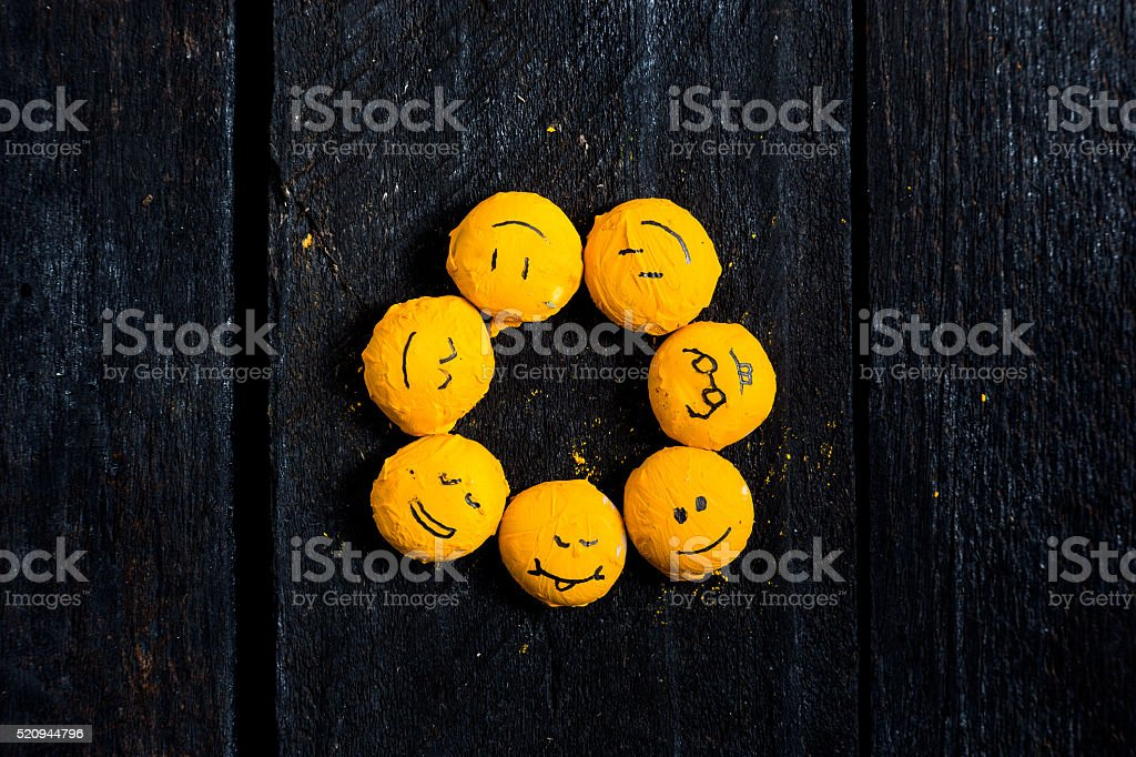 Sun from smile. stock photo