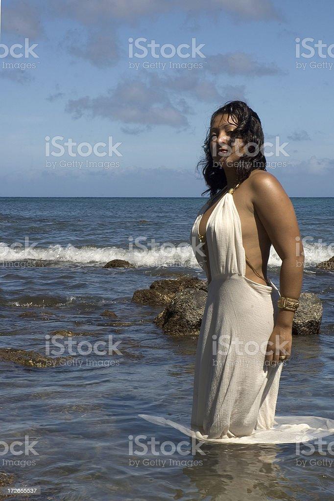 Sun Goddess royalty-free stock photo