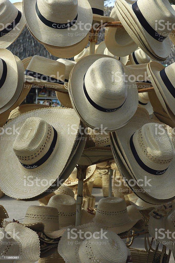 Sun Hats royalty-free stock photo