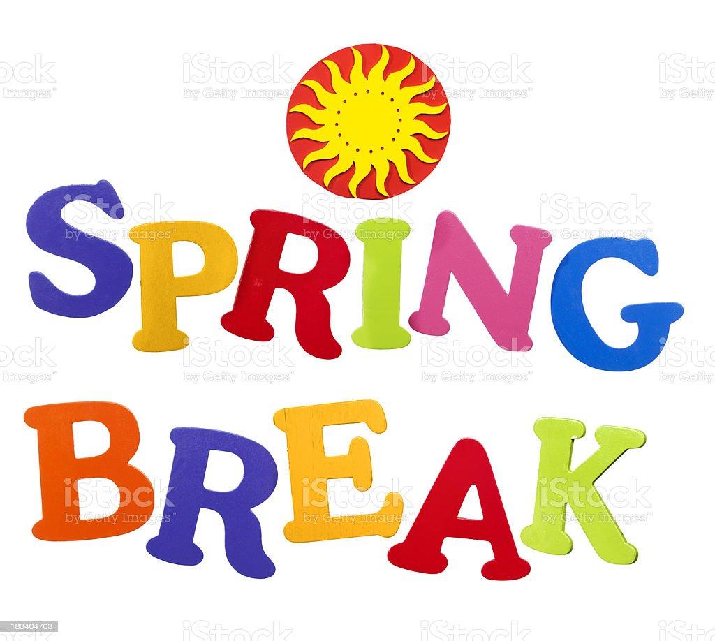 Spring Break Logo