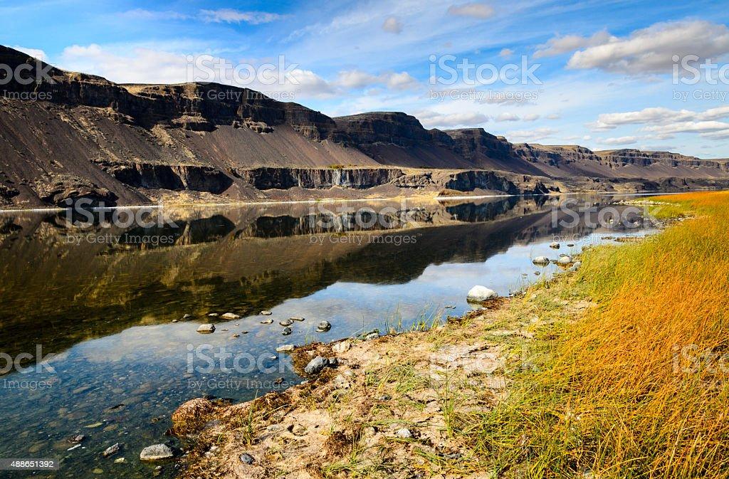 Sun Lakes-Dry Falls State Park stock photo