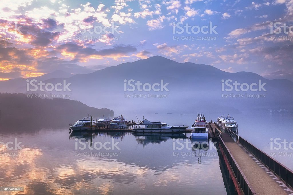 Sun Moon Lake, Taiwan stock photo