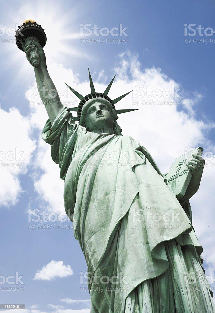 sun of liberty royalty-free stock photo
