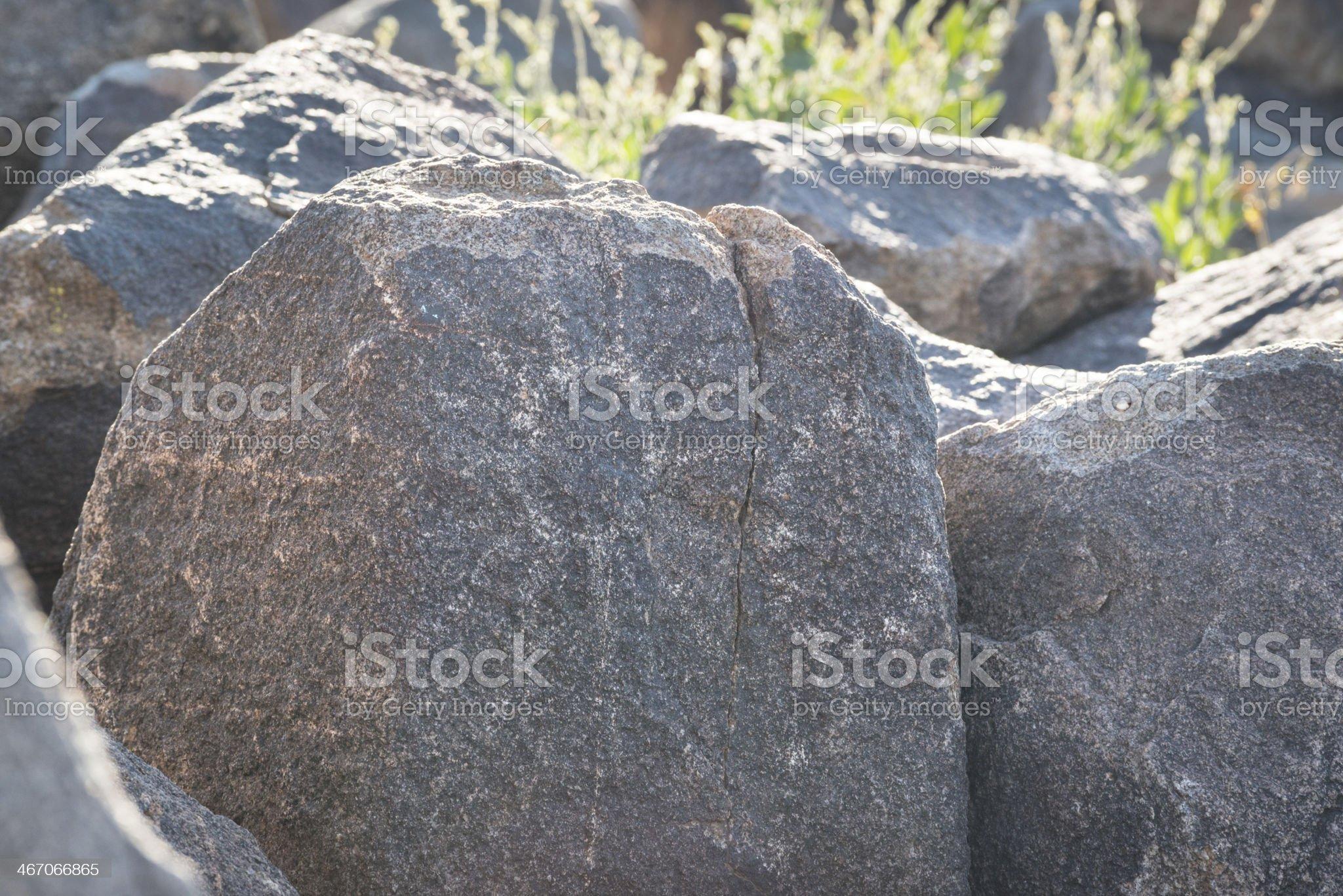 Sun Petroglyph royalty-free stock photo