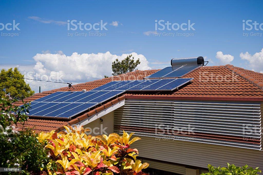 Sun Power Australia stock photo
