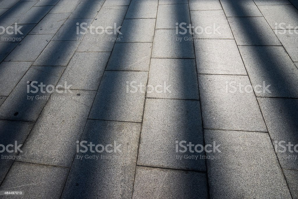 Sun ray on the ground royalty-free stock photo