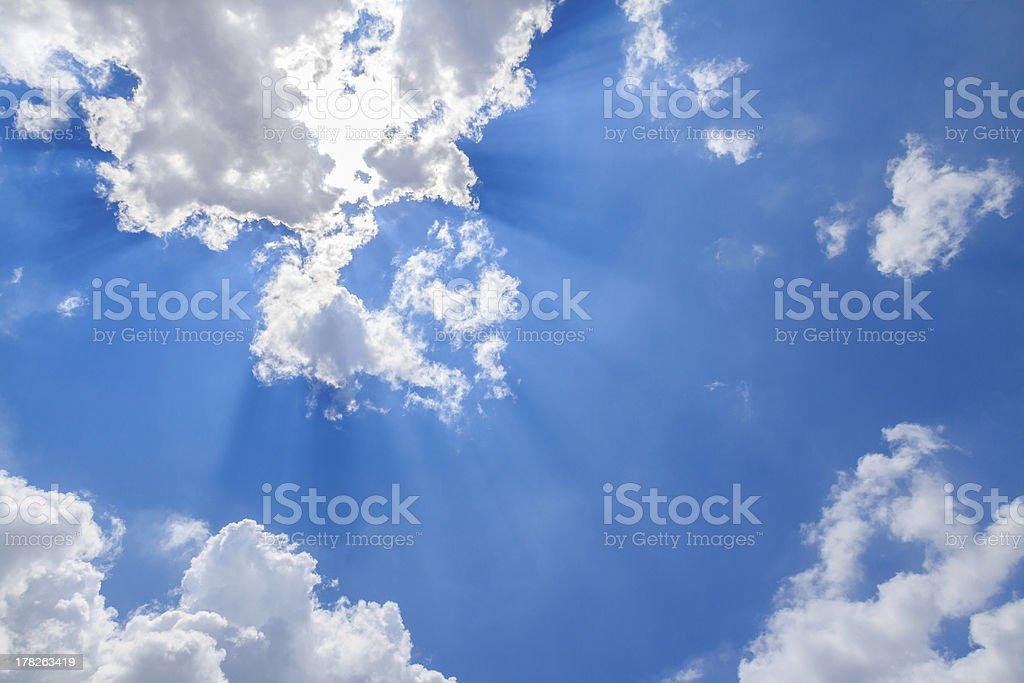 Sun ray royalty-free stock photo